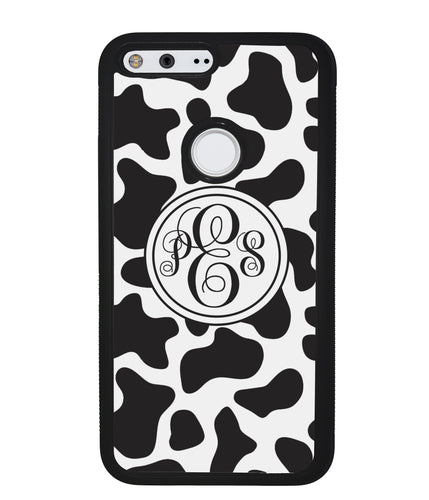 Cow Texture Monogram | Google Case