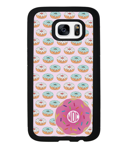 Donut on Donuts Monogram | Samsung Phone Case