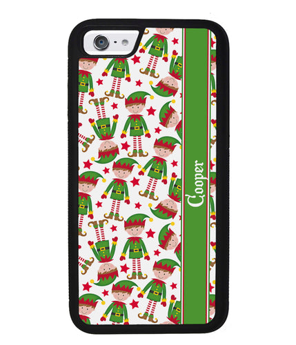 Funny Elf Christmas Workers Personalized | Apple iPhone Case