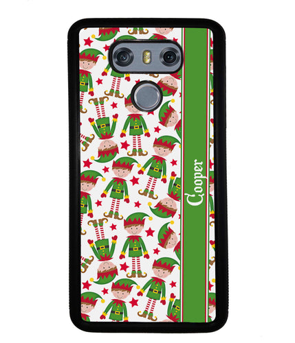 Funny Elf Christmas Workers Personalized | LG Phone Case