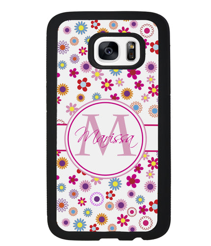 Flowers Monogram | Samsung Case