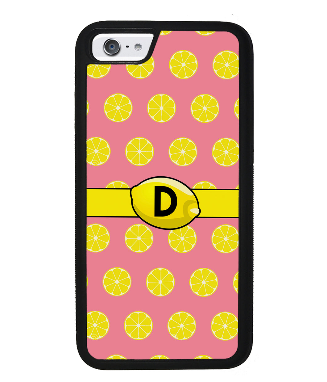 Lemon Lover Initial | Apple iPhone Case