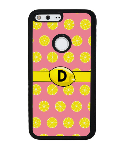 Lemon Lover Initial | Google Phone Case