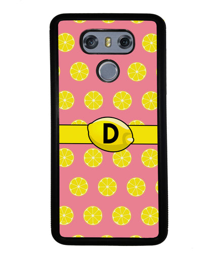 Lemon Lover Initial | LG Phone Case