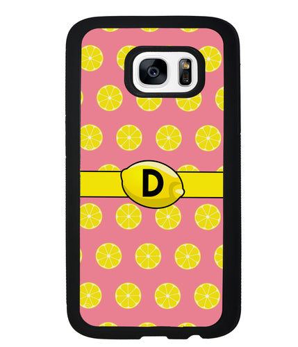 Lemon Lover Initial | Samsung Phone Case