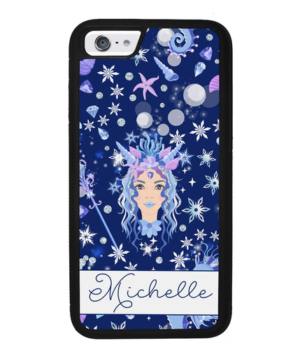 Goddess Mermaid Princess Personalized | Apple iPhone Case