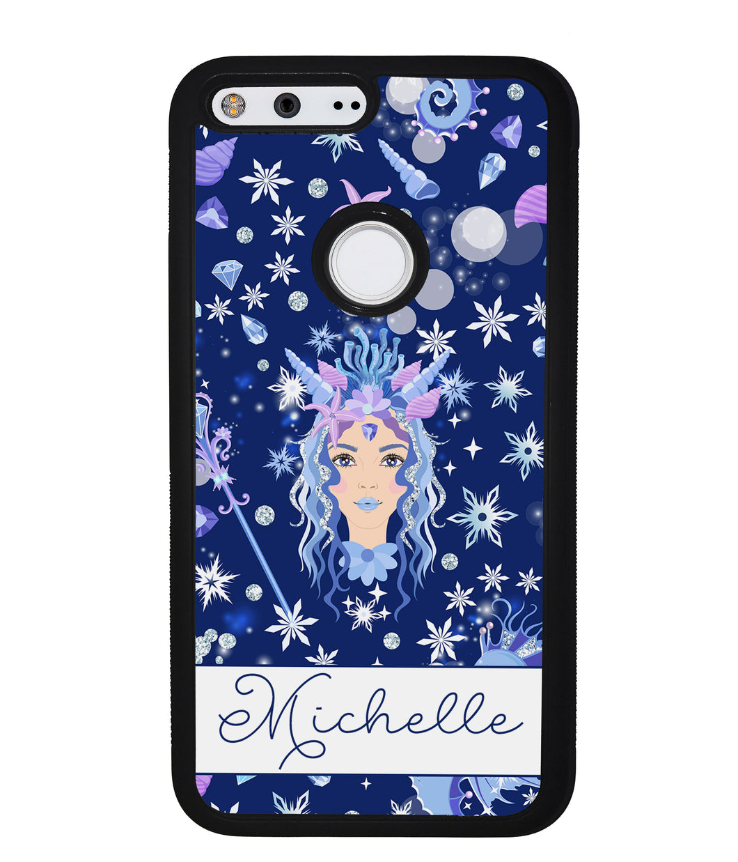 Goddess Mermaid Princess Personalized | Google Phone Case
