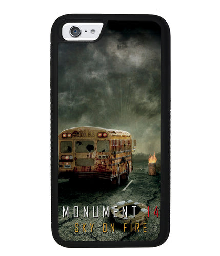 Emmy Laybourne Monument 14 Sky on Fire | Apple iPhone Case