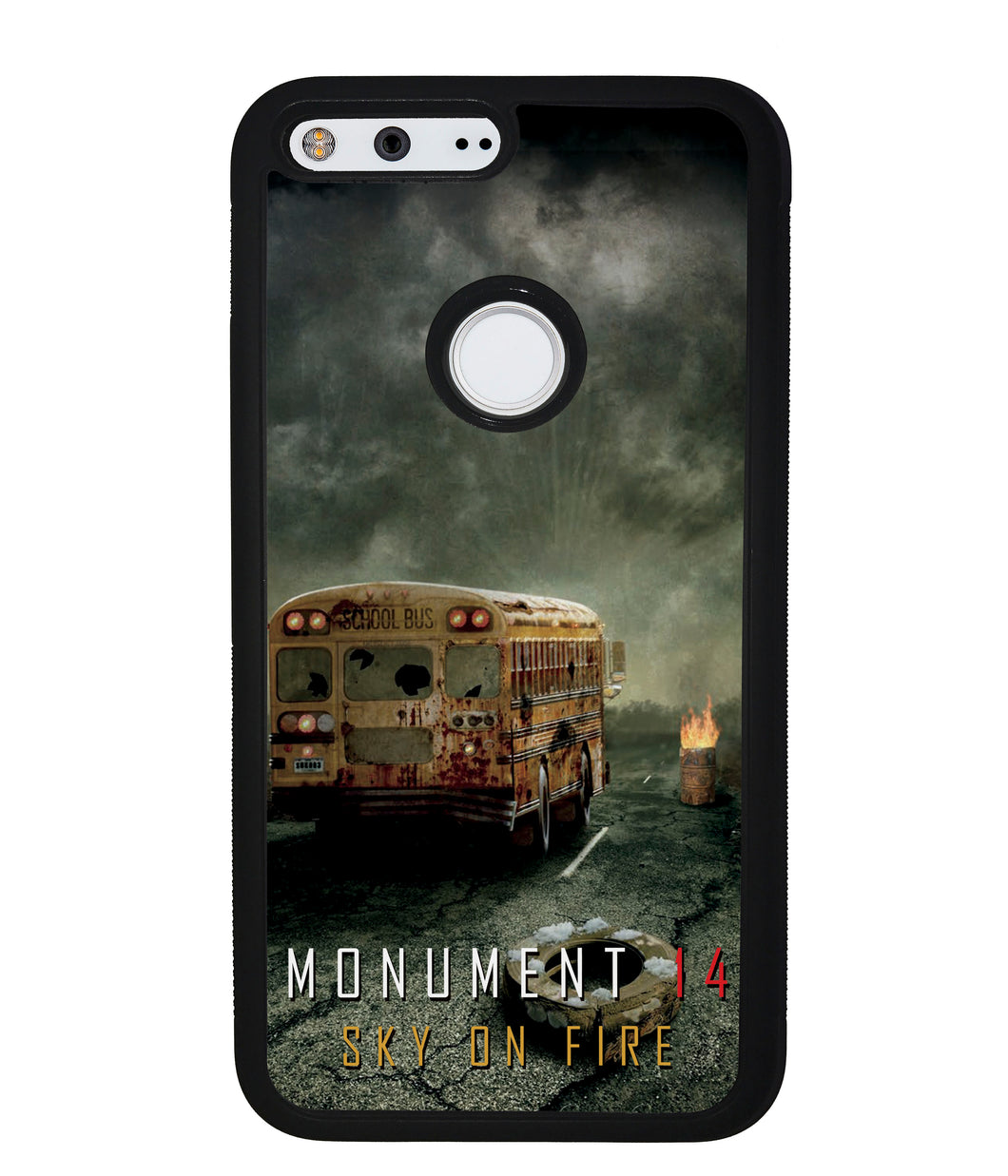 Emmy Laybourne Monument 14 Sky on Fire | Google Phone Case