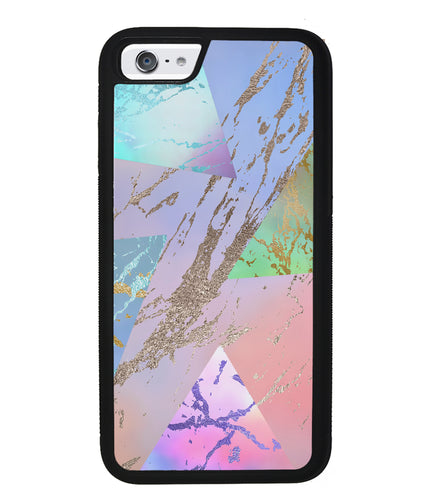 Multi Unicorn Colored Marble | Apple iPhone Case