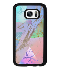Multi Unicorn Colored Marble | Samsung Phone Case
