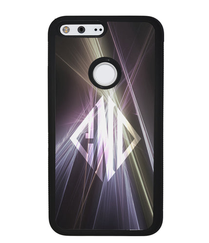 Neon Lights Diamond Monogram | Google Case