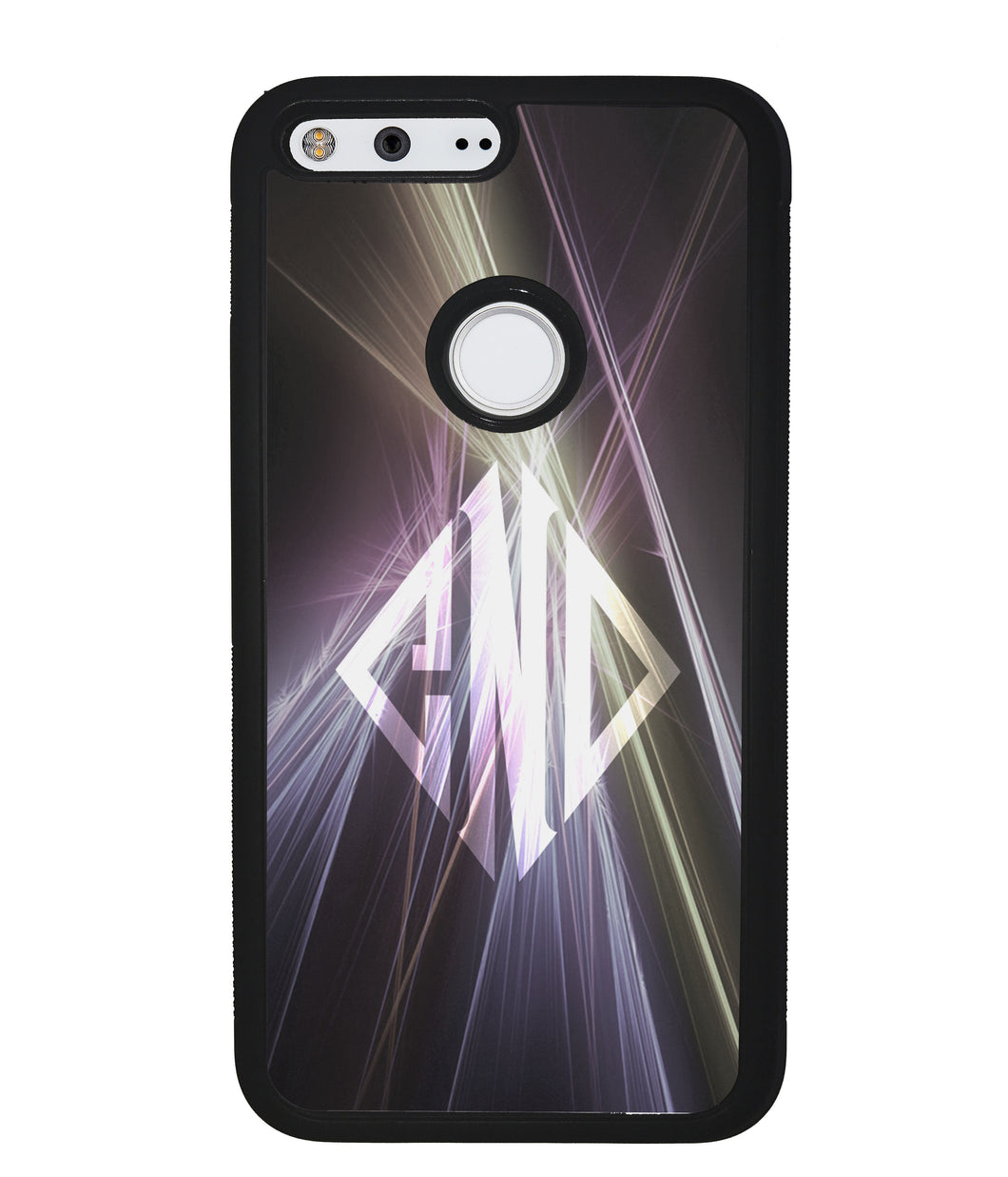 Neon Lights Diamond Monogram | Google Phone Case
