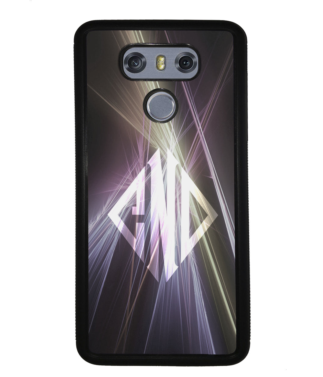 Neon Lights Diamond Monogram | LG Case