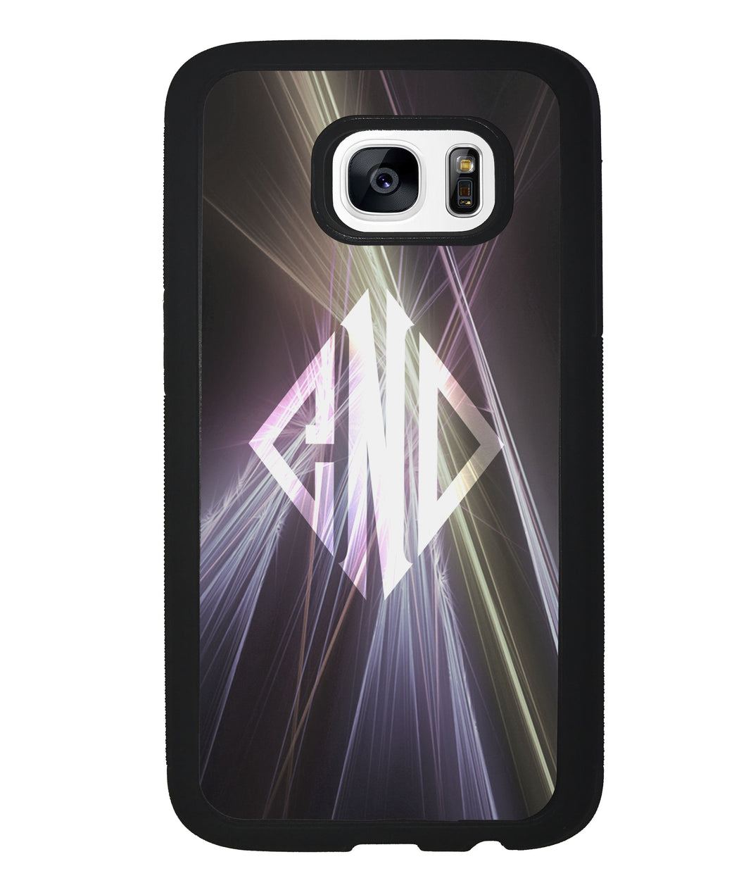 Neon Lights Diamond Monogram | Samsung Phone Case