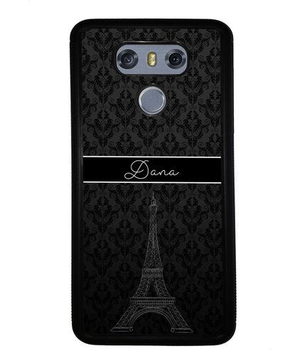 Paris Eiffel Tower Personalized | LG Case