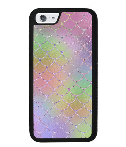 Pastel Unicorn Mermaid Scales | Apple iPhone Case