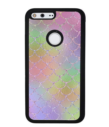 Pastel Unicorn Mermaid Scales | Google Phone Case
