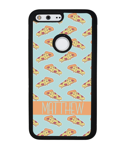Pepperoni Pizza Personalized | Google Phone Case
