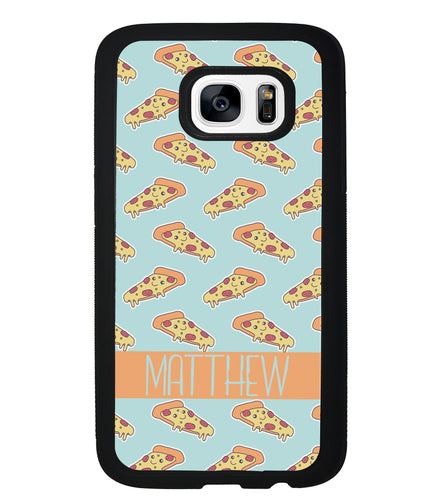 Pepperoni Pizza Personalized | Samsung Phone Case