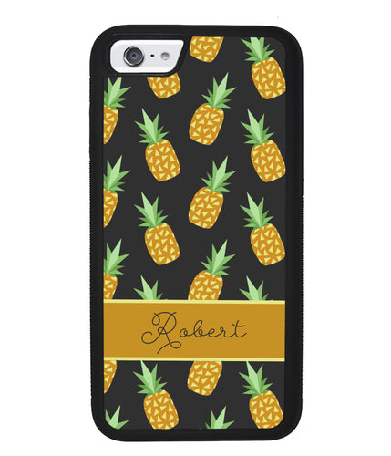 Pineapple Pattern Personalized | Apple iPhone Case