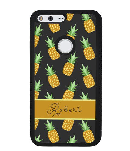 Pineapple Pattern Personalized | Google Phone Case