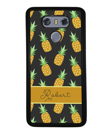 Pineapple Pattern Personalized | LG Case