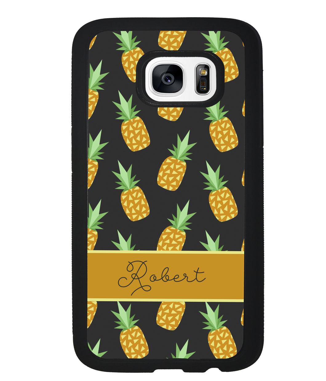 Pineapple Pattern Personalized | Samsung Phone Case