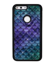 Purple Shine Mermaid Scales | Google Phone Case