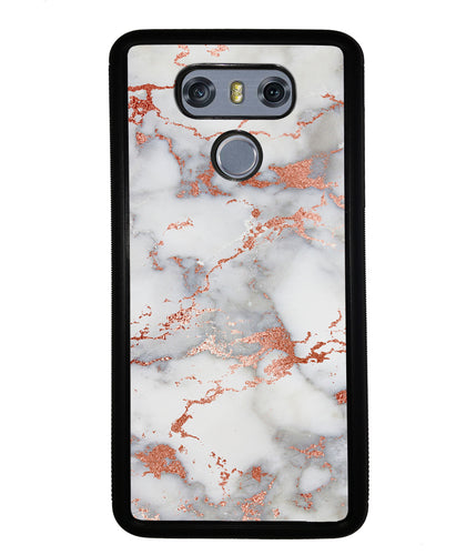 Rose Gold White Marble | LG Case