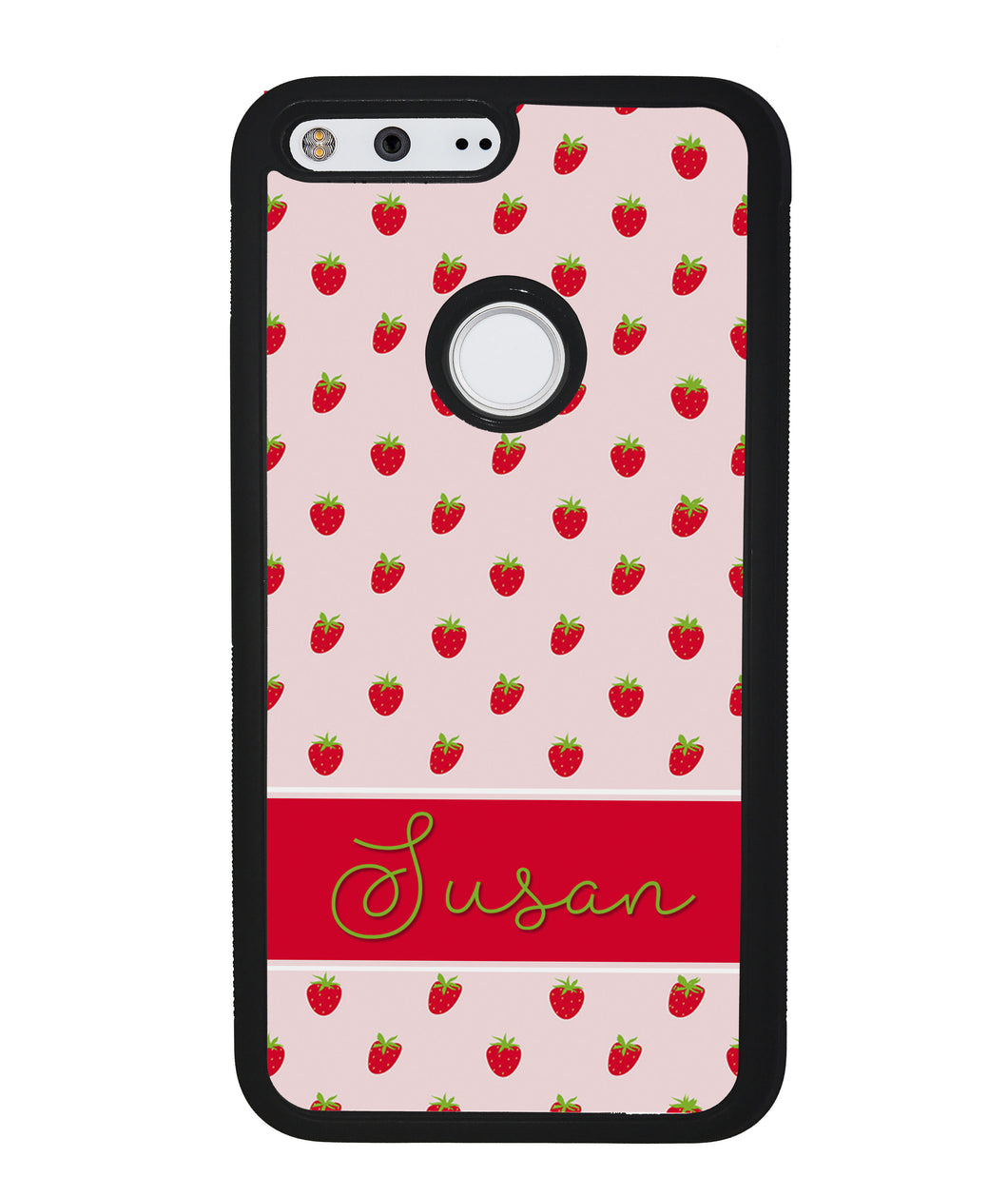 Strawberry Pattern Personalized | Google Phone Case