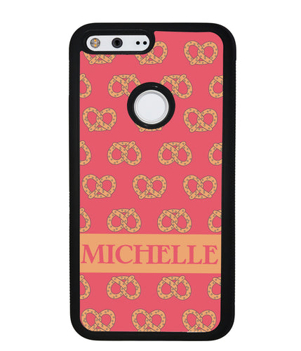 Super Soft Pretzel Personalized | Google Phone Case