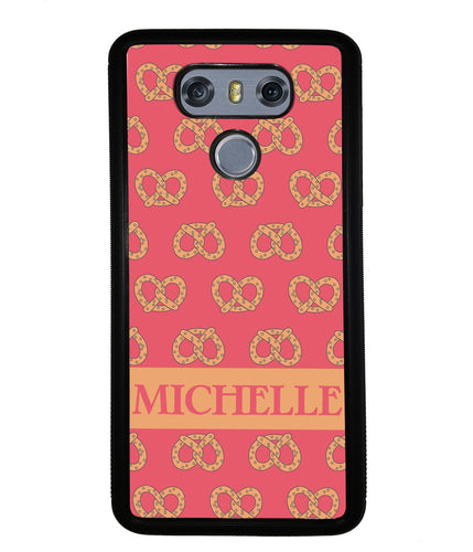 Super Soft Pretzel Personalized | LG Case