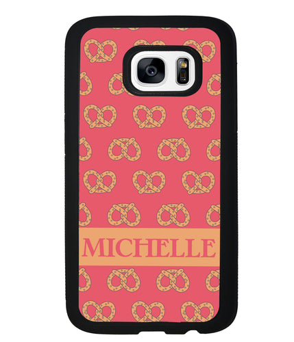 Super Soft Pretzel Personalized | Samsung Phone Case