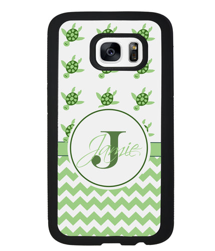Turtle Monogram Chevron | Samsung Case