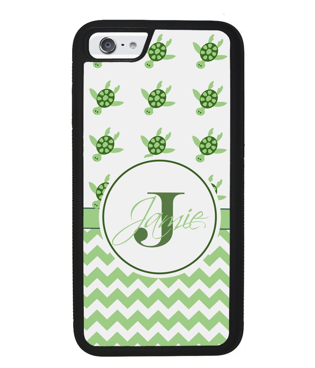 Turtle Chevron Personalized | Apple iPhone Case
