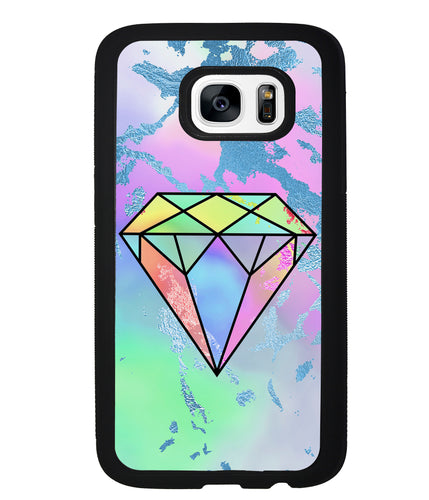 Unicorn Marble Diamond | Samsung Phone Case