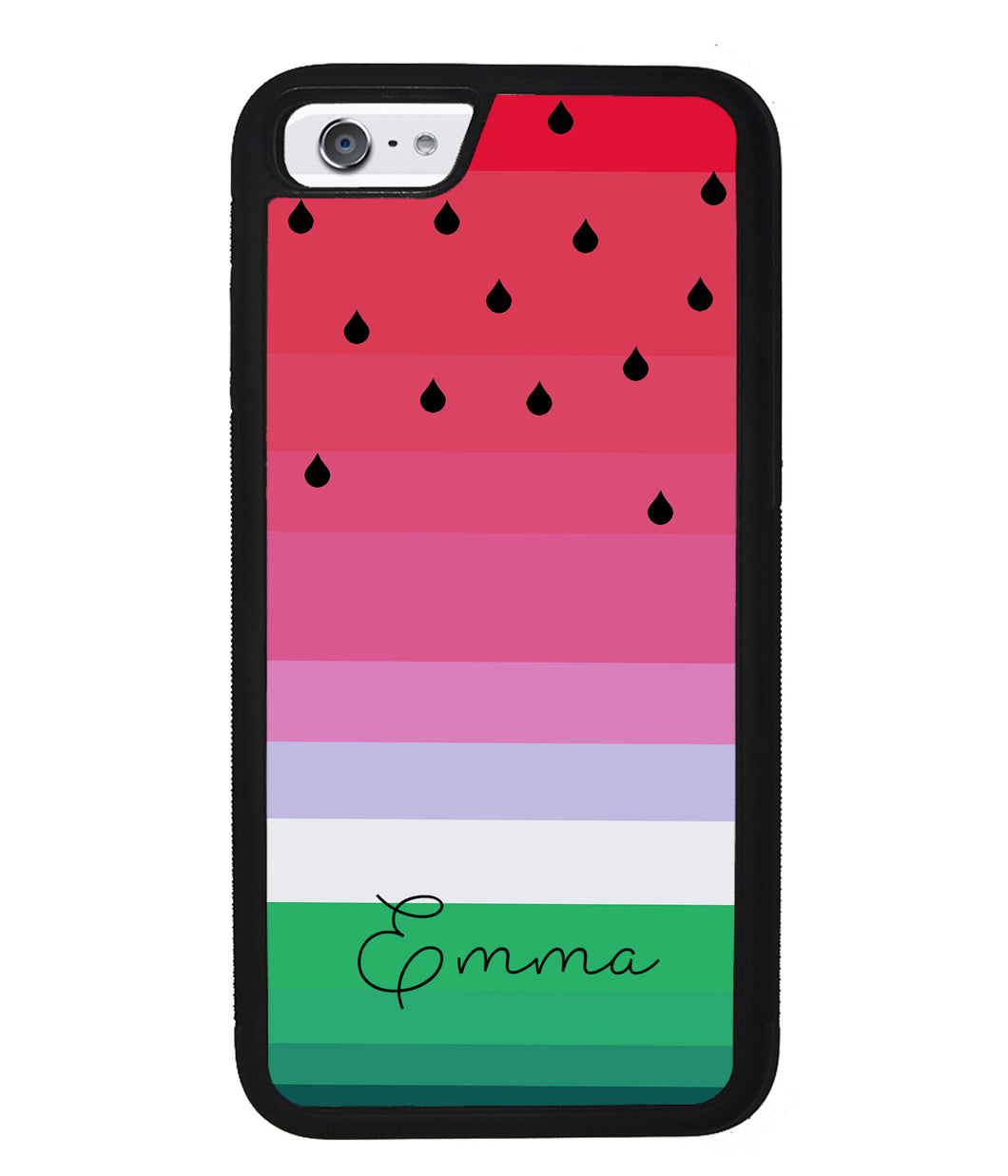 Watermelon Gradient Personalized | Apple iPhone Case