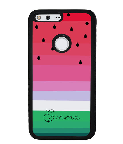 Watermelon Gradient Personalized | Google Phone Case