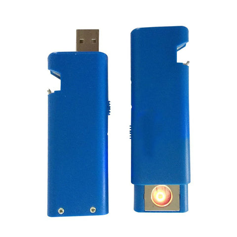 Madsbag USB Rechargeable Flameless Electronic Cigarette Lighter With Bottle Opener