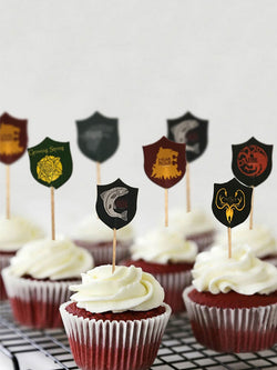 Game of Thrones candy bar cupcake toppers picks