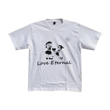 Madsbag Unisex Colour Changing T-Shirt | Spills out Organic Colours on throwing Water | Love Eternal
