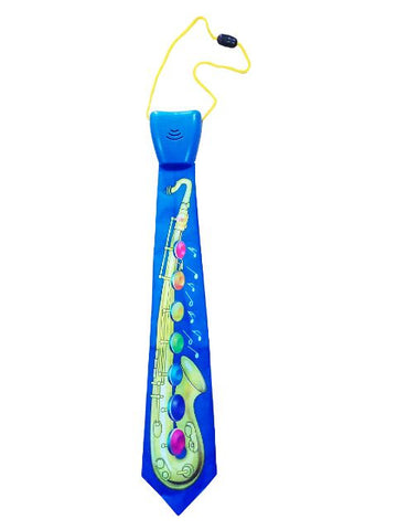 Madsbag Neck Tie Musical Toy | Necktie For Kids & Adults (Saxophone)