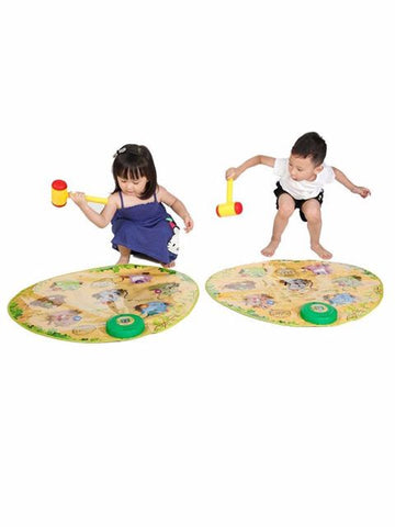 Madsbag Multi-Color Sensory Hit Moles Playmat Game Fun Activity Mat For Kids Baby Children