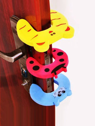 Madsbag Nontoxic Rubber Kids Safety Baby Protection | Door Stopper Guard Holder Lock