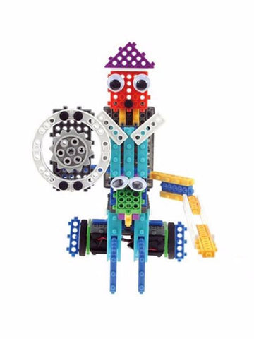Madsbag Educational 2 in 1 Robot Building Blocks Kit (42 X 5 X 30 cm)