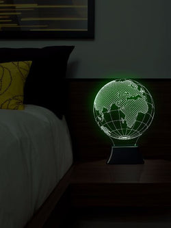 Madsbag Color Changing 3D Illuminated LED Table Bed Night Lamp | Home Decor | Office Decor (Globe)