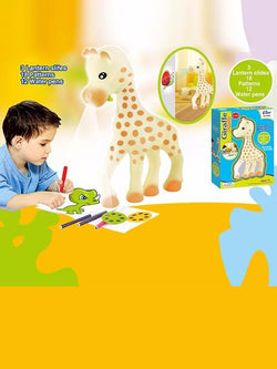 Madsbag Giraffe Projector Drawing Learning Kit |  Projecting Creative Drawing Toy