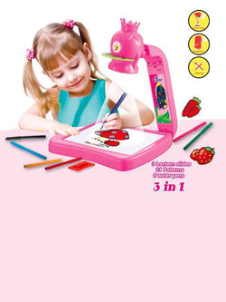 Madsbag Projector Painting2 Learning to Draw | Projecting Creative Drawing Toy
