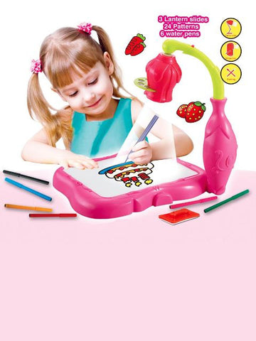 Madsbag Projector Painting Educational Drawing Kit with Table Lamp